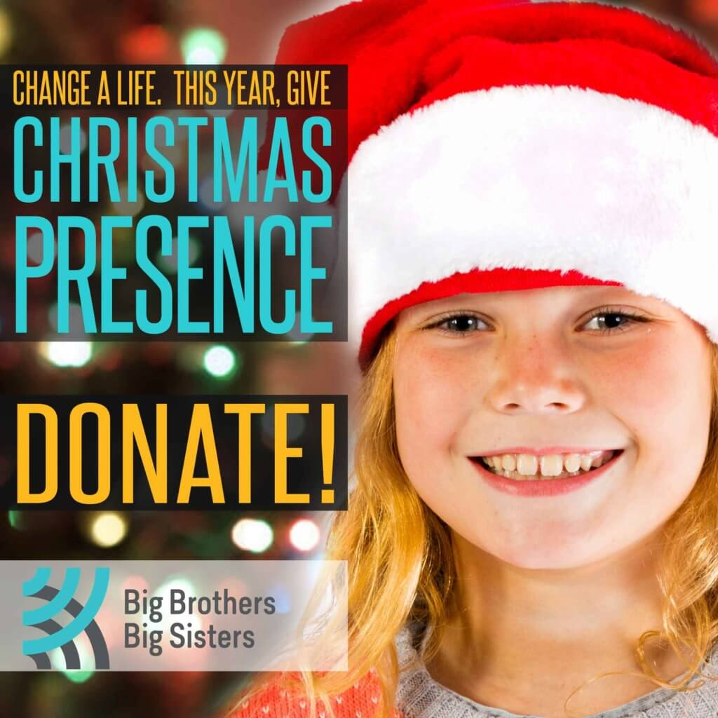 Change a life. This year, give Christmas Presence. Donate!