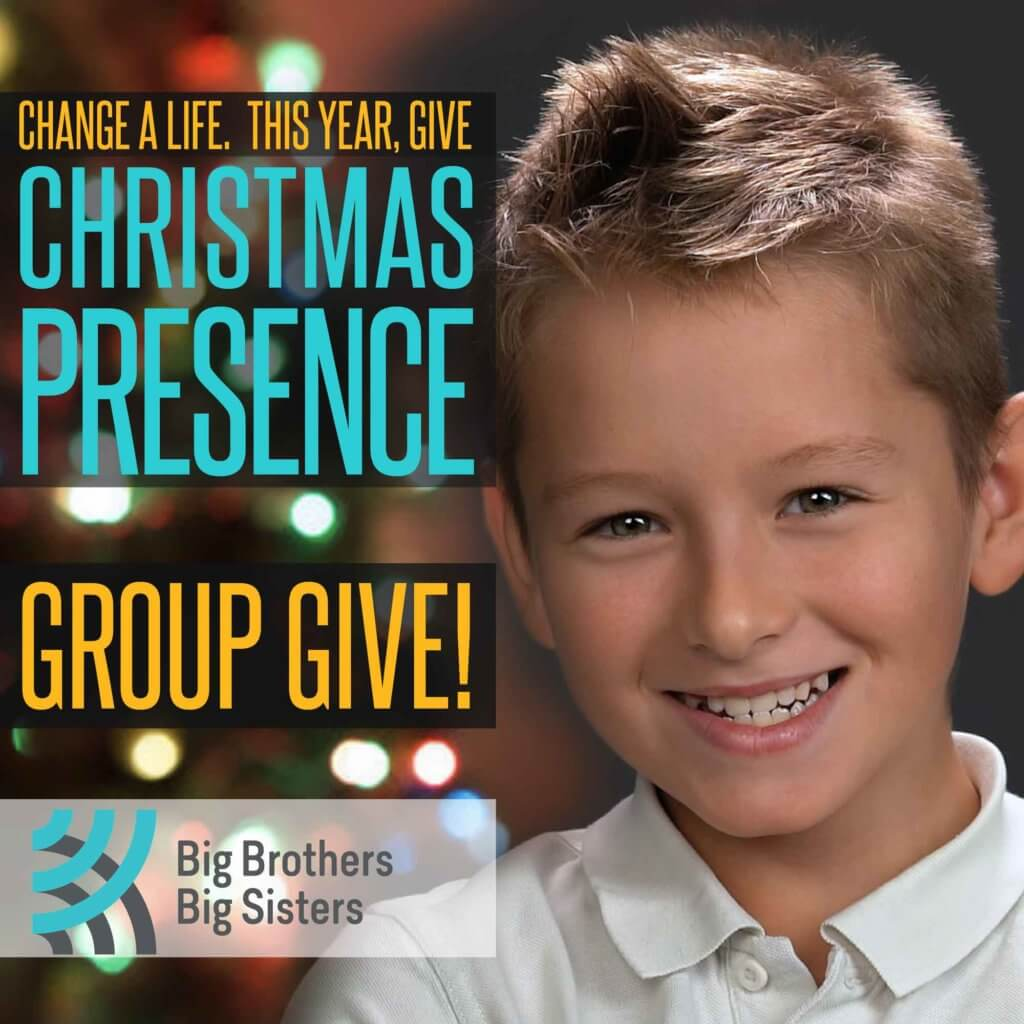 Change a life. This year, give Christmas Presence. Group Give!